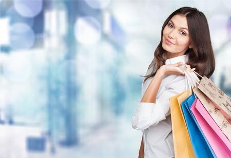 Photo pour Shopping, retail, bags. - image libre de droit
