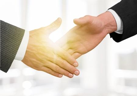 Photo pour Business, partners, shake. - image libre de droit