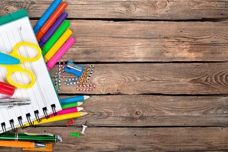 Photo pour Schooling, school, back. - image libre de droit