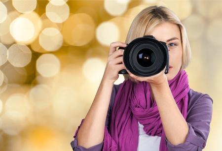 Photographer, Camera, Photograph.