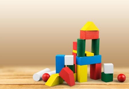 Photo pour Toy, kid, wooden. - image libre de droit