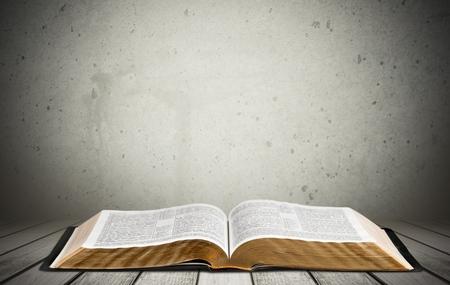 Bible, Book, Open.