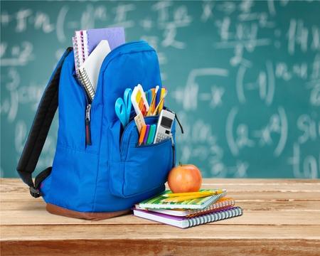 School, backpack, educational.