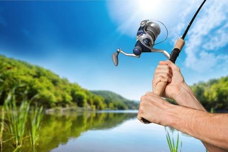 Photo pour Fishing. - image libre de droit