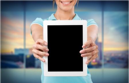 Photo pour Tablet. - image libre de droit