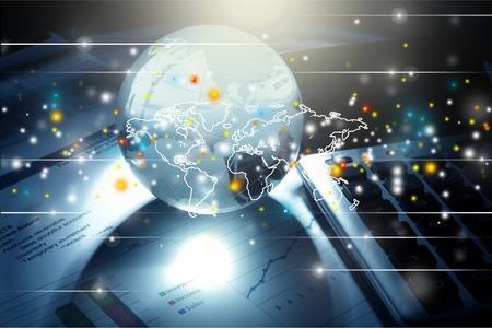 Foto de Global Business. - Imagen libre de derechos