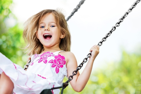 Photo for Playing Child. - Royalty Free Image