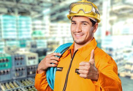 Electrician worker.