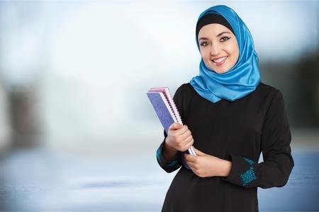 Muslim female student.