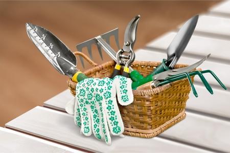 Photo pour Gardening Equipment. - image libre de droit