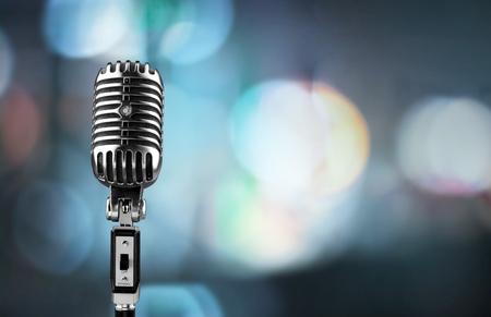 Photo pour Microphone. - image libre de droit