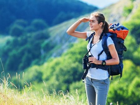 Foto de Hiking. - Imagen libre de derechos