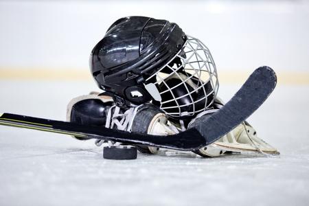 Foto de Ice Hockey. - Imagen libre de derechos