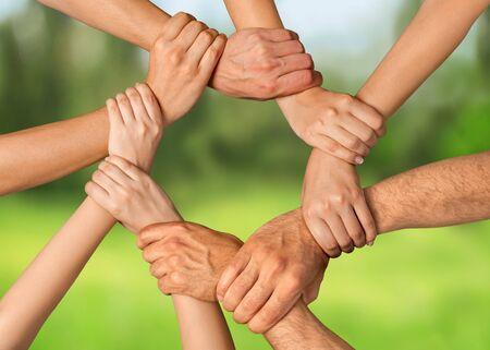Photo pour Human Hand. - image libre de droit