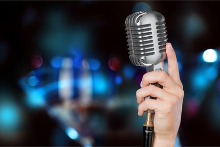 Foto de Microphone. - Imagen libre de derechos