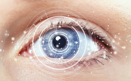 Photo for Cataract. - Royalty Free Image