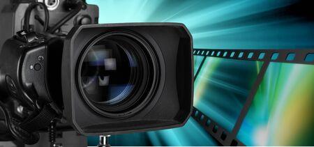 Photo pour Home video camera. - image libre de droit