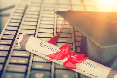 Online learning or graduate concept