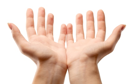 Photo for Hands Cupped - Royalty Free Image
