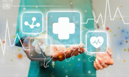 Photo pour Innovative Technologies in medicine - image libre de droit