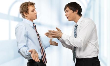 Photo pour Business conflict disagreement - image libre de droit