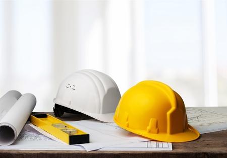 Photo pour Business engineer contractor concept - image libre de droit