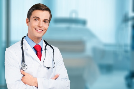 Photo for Handsome smile doctor portrait - Royalty Free Image