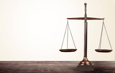 Photo for Justice weight scales - Royalty Free Image