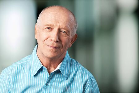 Foto de Handsome senior man standing - Imagen libre de derechos
