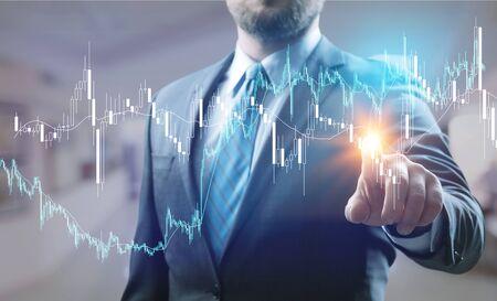 Photo pour New technologies for business - image libre de droit