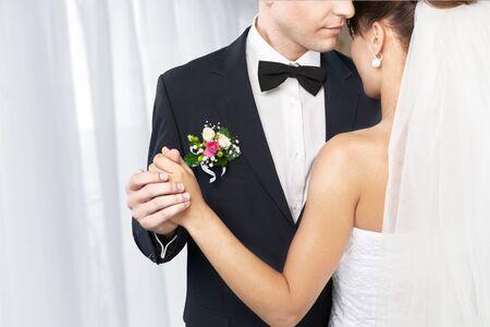 Foto für Happy just married young couple - Lizenzfreies Bild