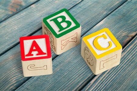 Foto de Building blocks ABC - Imagen libre de derechos
