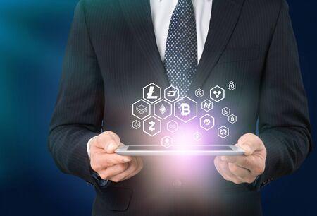 Photo pour Business Analytics Technology - image libre de droit