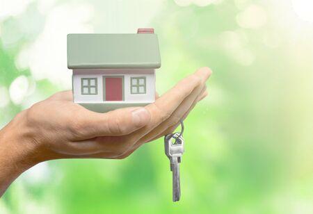 Photo pour Real estate concept - image libre de droit