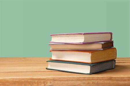 Photo pour Books collection  isolated on  background. - image libre de droit