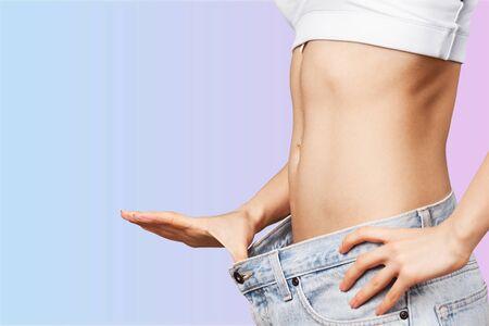 Photo for Beautiful slim female body - Royalty Free Image