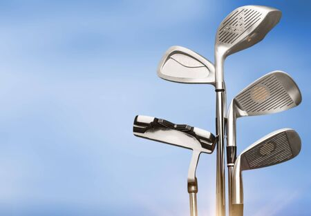 Photo pour Golf, Golf Club concept - image libre de droit