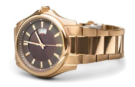 Photo pour Luxury Wristwatch Isolated - image libre de droit