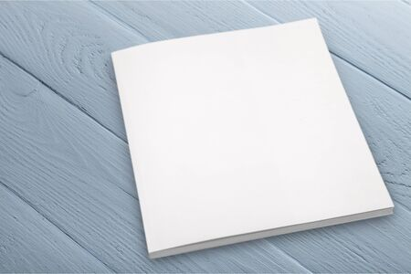 Photo for Plank  textbook isolated on background - Royalty Free Image