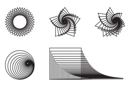 Illustration pour Abstract Psychedelic Art Background. - image libre de droit