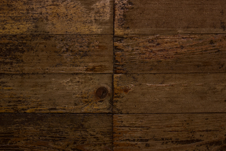 texture of vintage parquet with natural patterns and defects close-up grunge background for design