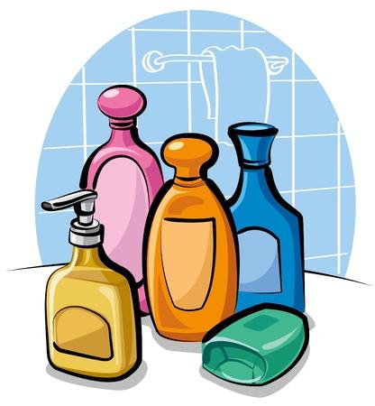 shampoo and soap