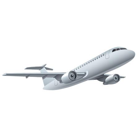 Ilustración de jet airplane - Imagen libre de derechos