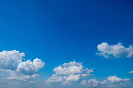 Photo pour blue sky with clouds background - image libre de droit