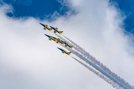 Photo for planes in the air show - Royalty Free Image