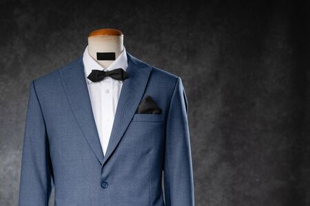 Photo for Men's suit on a mannequin - Royalty Free Image