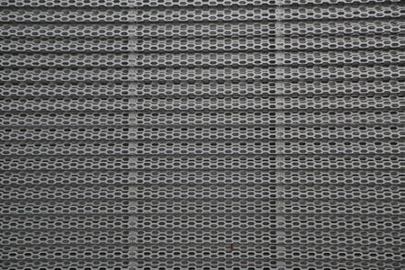 Perforated metal panel