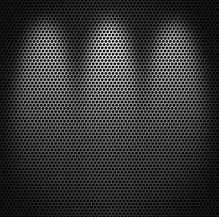 Photo pour Metal net monochromatic texture background. - image libre de droit