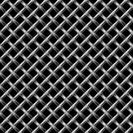Metal net seamless background - pattern for continuous replicate.
