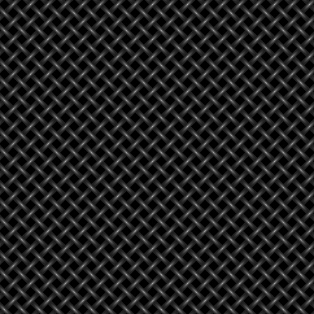 Seamless woven background - vector pattern for continuous replicate.